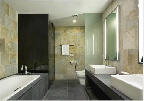 酒店洗手间 高清图片